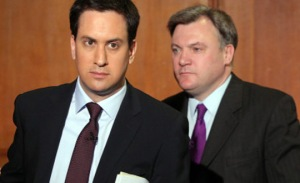 TWO EDS BETTER THAN ONE? Miliband and Balls plot to hit the elderly