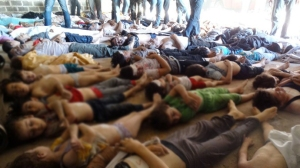 SYRIA'S SUFFERING: Victims of gassing add to the 100,000 death toll