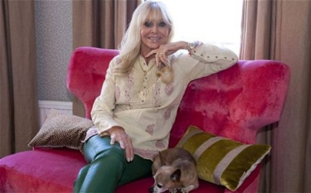 AGE NO BARRIER: Ex-Bond Girl, Britt Ekland is the 'face' of Sweden's silver servers