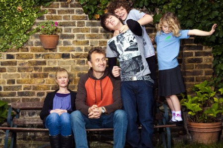 ROLE REVERSAL: In the hit BBC sitcom, Outnumbered, the brats get respect, the parents just abuse